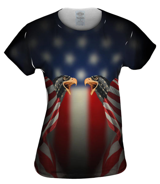 Flag Eagles Womens Top