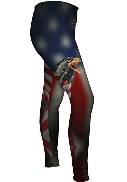 Flag Eagles Womens Leggings