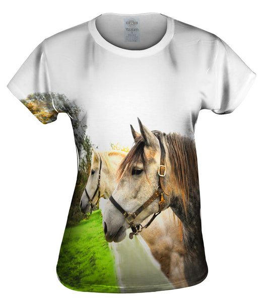 Horse Profile Womens Top