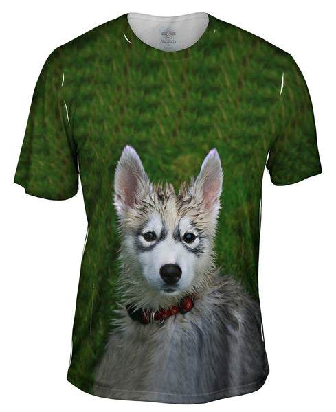 Wet Fun Husky Mens T-Shirt