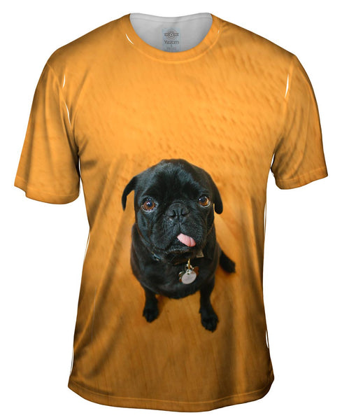Mini Pug Mens T-Shirt