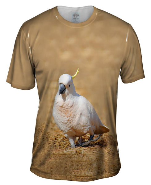 Dancing Cockatoo Mens T-Shirt