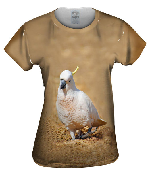 Dancing Cockatoo Womens Top