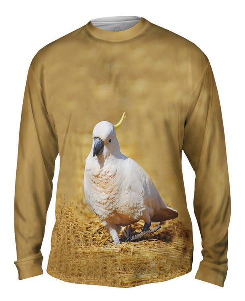 Dancing Cockatoo Mens Long Sleeve