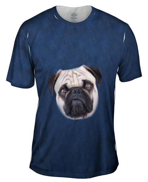 I Mean Business Pug Mens T-Shirt