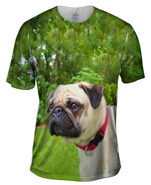 Pug Of Honor Mens T-Shirt