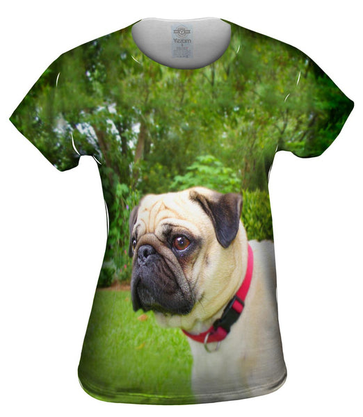 Pug Of Honor Womens Top
