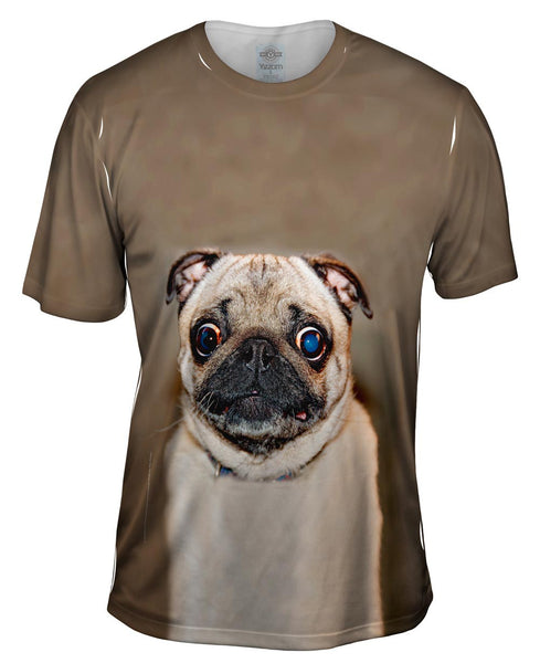 Least Photogenic Award Pug Mens T-Shirt