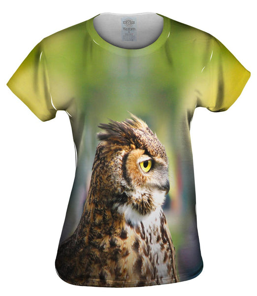 Furry Owl Womens Top