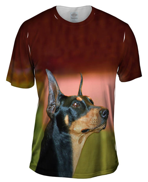 Aspirational Doberman Mens T-Shirt