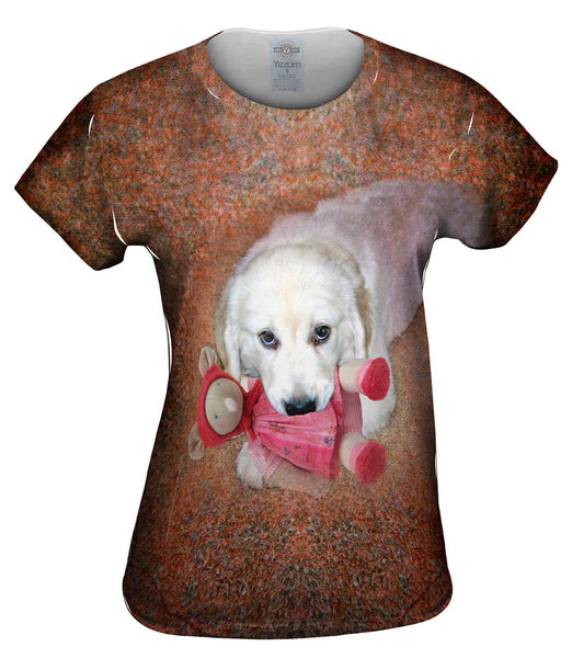Chew Toy Labrador Womens Top