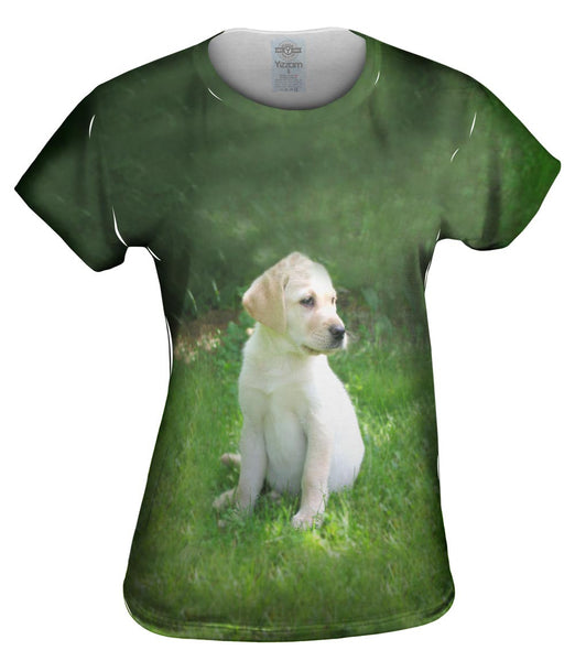 Young Golden Lab Womens Top