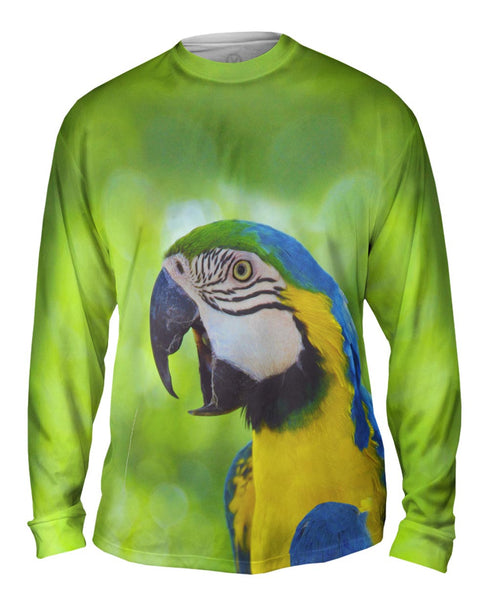 Talking Parrot Mens Long Sleeve