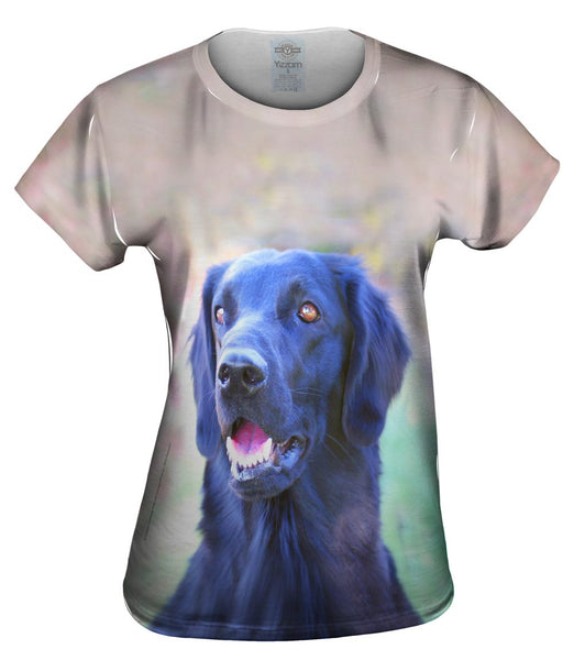 Happy Black Lab Womens Top