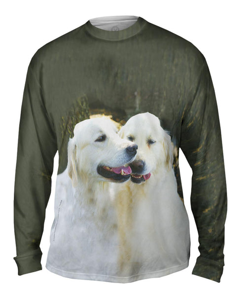 Golden Lab Twins Mens Long Sleeve