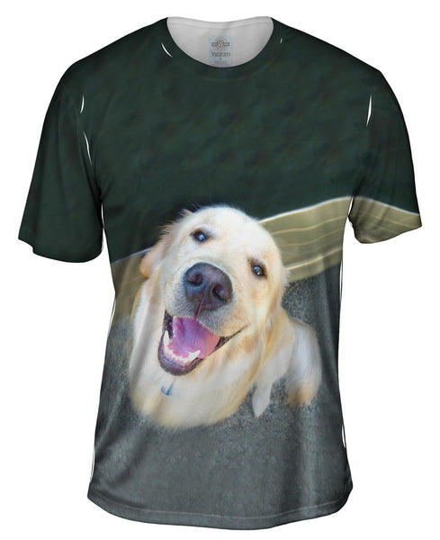 Love The Love Golden Lab Mens T-Shirt