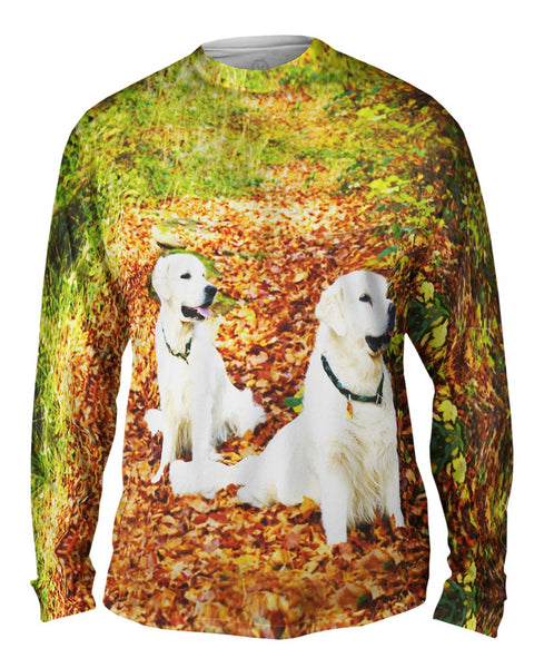 White Labs Among Leaves Mens Long Sleeve