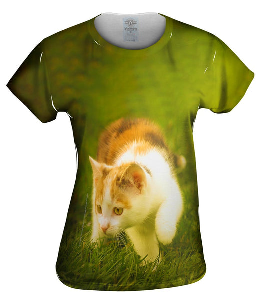 Kitten On The Prowl Womens Top