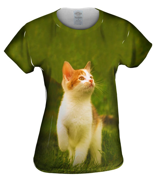 Proud Kitty Cat March Womens Top