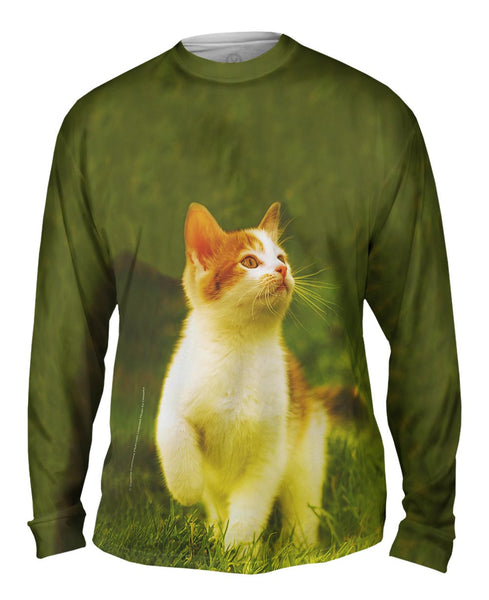 Proud Kitty Cat March Mens Long Sleeve