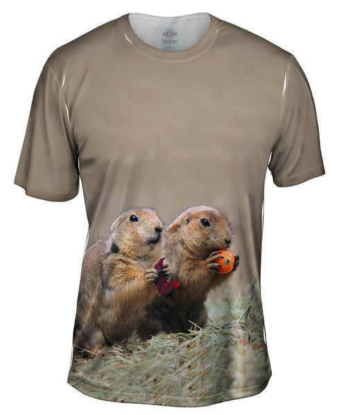 Fall Prairie Dogs Mens T-Shirt