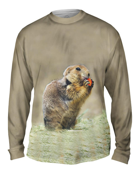 Hungry Praire Dog Mens Long Sleeve