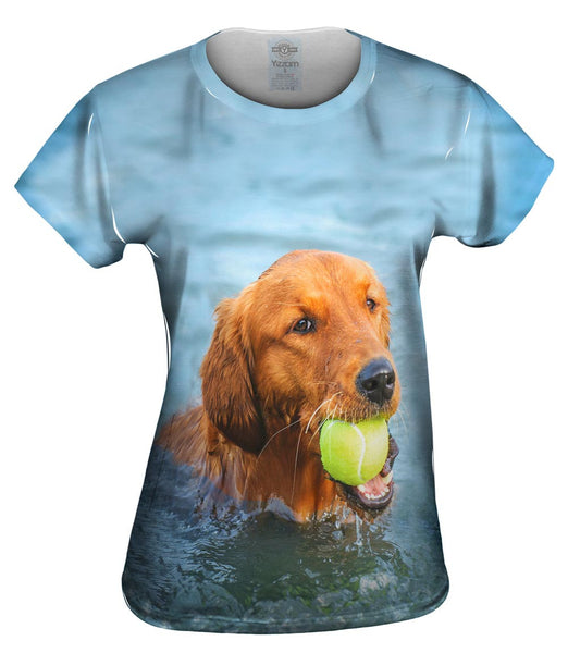 Golden Lab Waterplay Womens Top