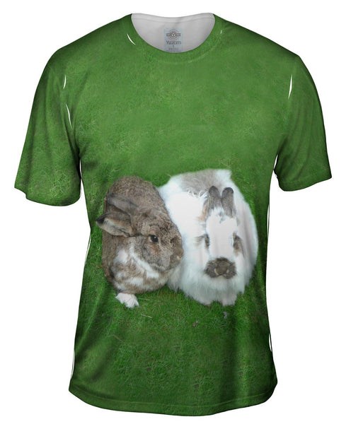 Bunny Rabbit Friends Mens T-Shirt