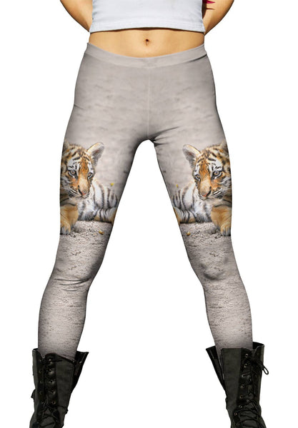 Little Tiger Peek Womens Leggings