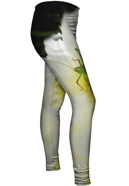 Grasshopper Waiting Womens Leggings