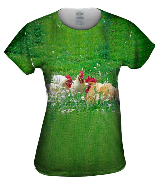 Talking Chickens Womens Top