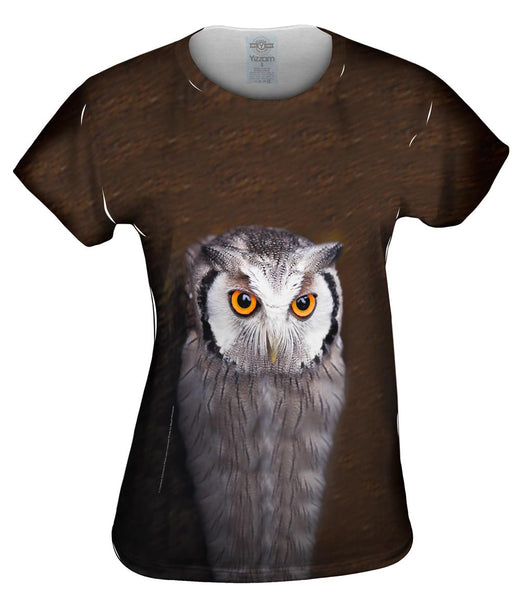 Tectonic Owl Womens Top