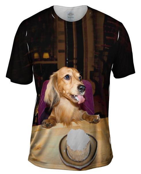 Dachshund Birthday Party Mens T-Shirt