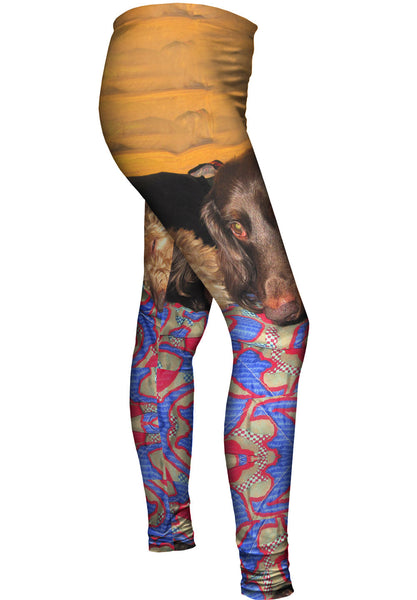 Dachshund Nap Time Womens Leggings