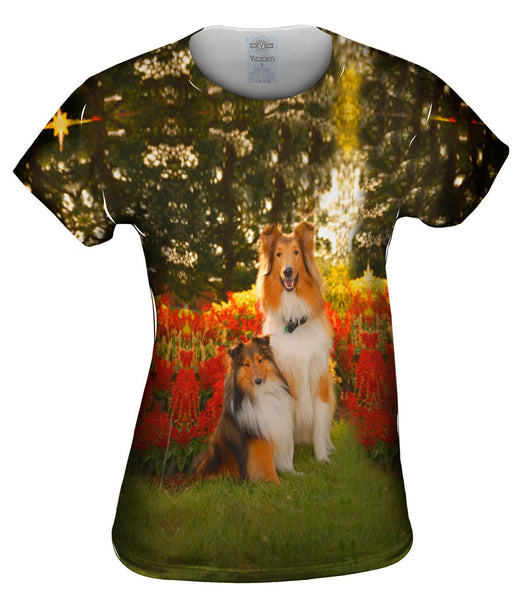 Tender Border Collie Womens Top