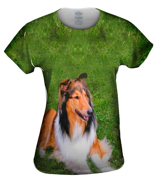Thirsty Collie Womens Top