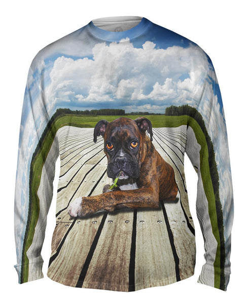 Boxer On Deck Mens Long Sleeve