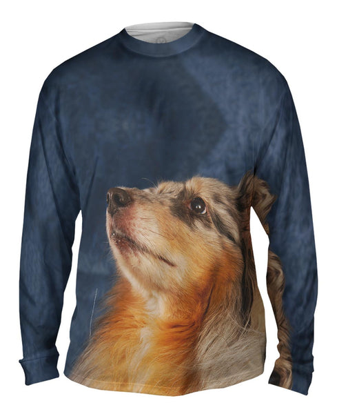 Victorious Collie Mens Long Sleeve