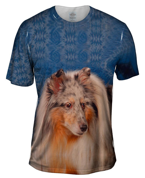 Bewildered Collie Mens T-Shirt
