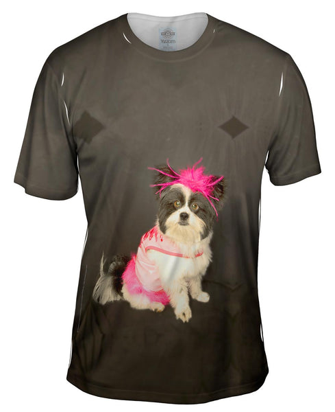 Ballet Doggy Mens T-Shirt