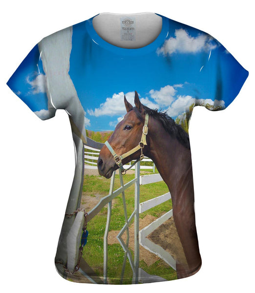Lovely Horse Womens Top