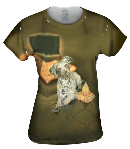 Shaggy Schnauzer Womens Top