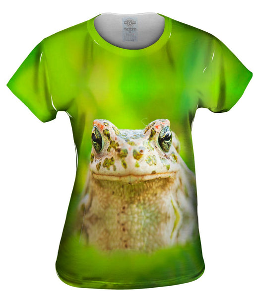 Lovely Frog Womens Top