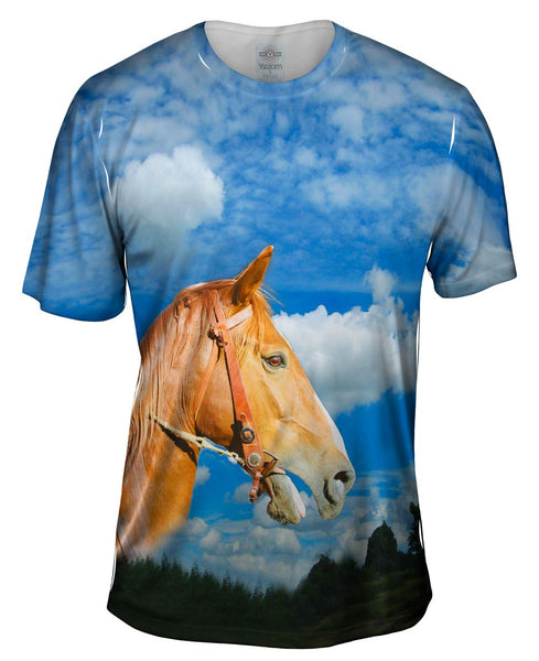 Mighty Horse Mens T-Shirt