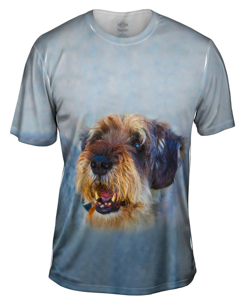 Scruffy Time Dog Mens T-Shirt