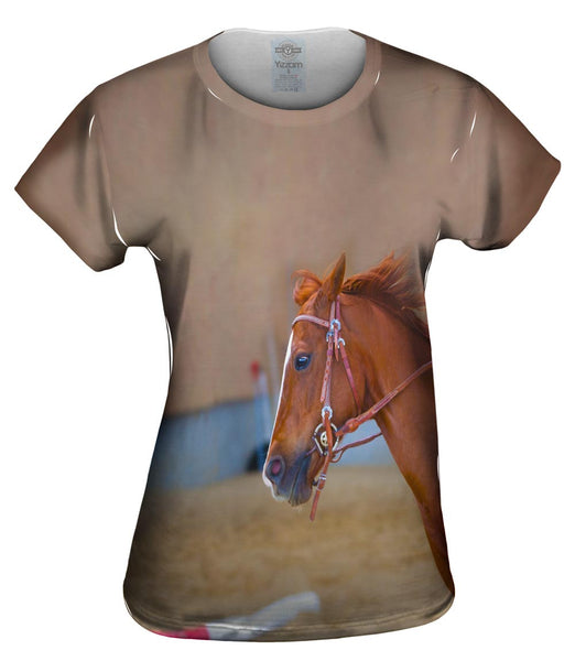 Joyous Race Horse Womens Top