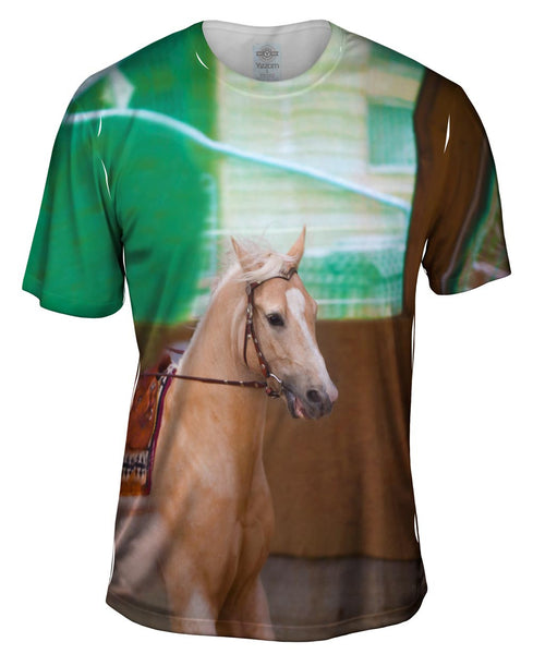 Victorious Horse Mens T-Shirt