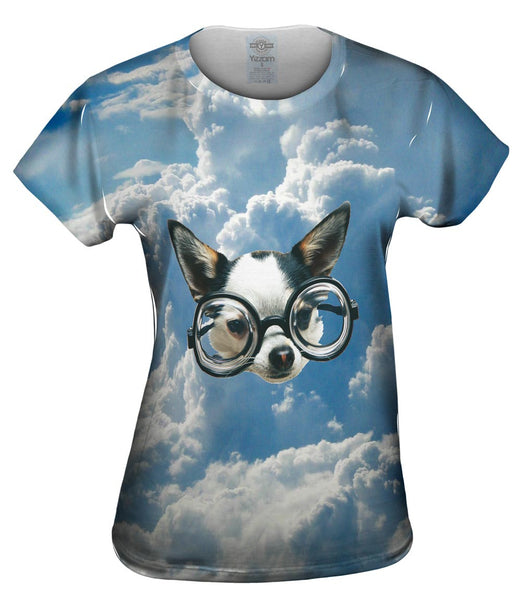 Flying Chihuahua Womens Top
