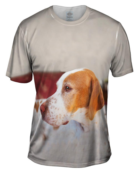 English Pointer Vigilant Mens T-Shirt