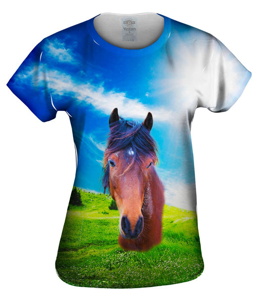 Whisper Horse Womens Top